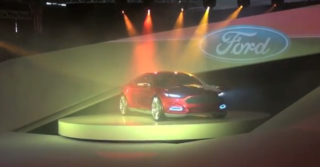 Ford Evos Concept Launch