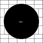 10000mm diameter revolving stage surround