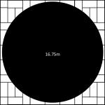 16750mm diameter revolving stage surround