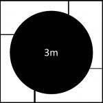 3000mm diameter revolving stage