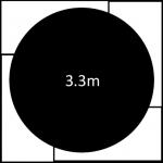 3300mm diameter revolving stage