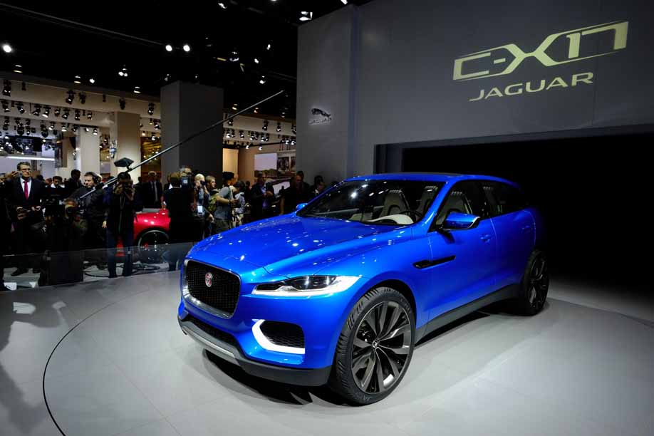 Jaguar C-X17 Concept Car