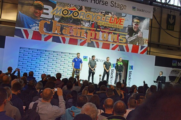 black horse stage motorcyle live 2013