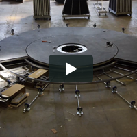 Triple Revolve Timelapse | The Revolving Stage Company