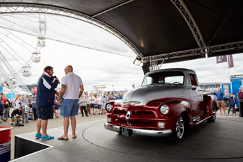 Mike Brewer Car Clinic, Silverstone Classic 2016