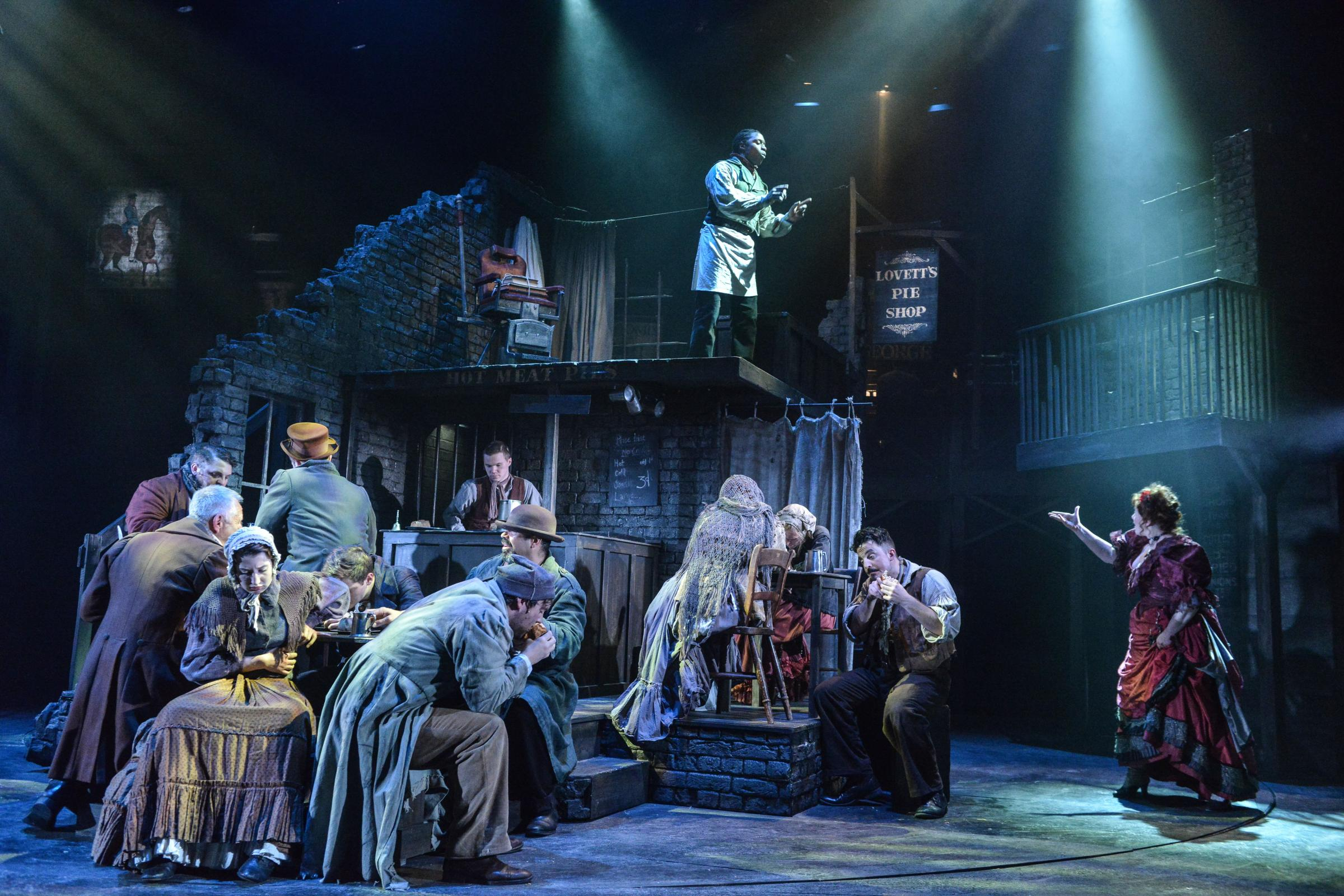 Sweeney Todd, Derby Theatre and Mercury Theatre, Colchester