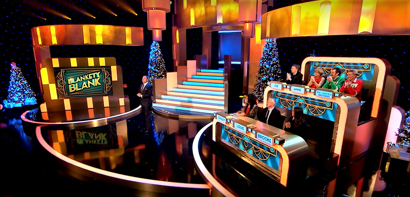 Blankety Blank returns for Christmas Special