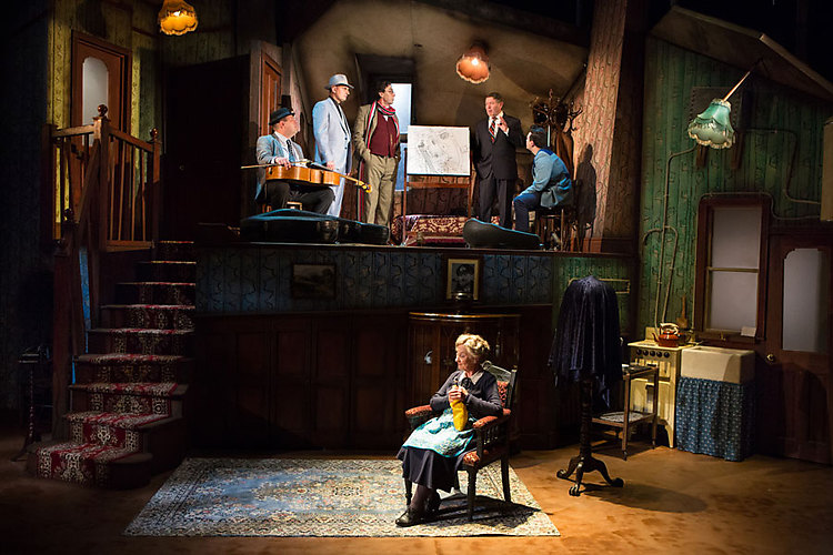 Ladykillers at New Wolsey Theatre, Salisbury Playhouse and Queen's Theatre, Hornchurch