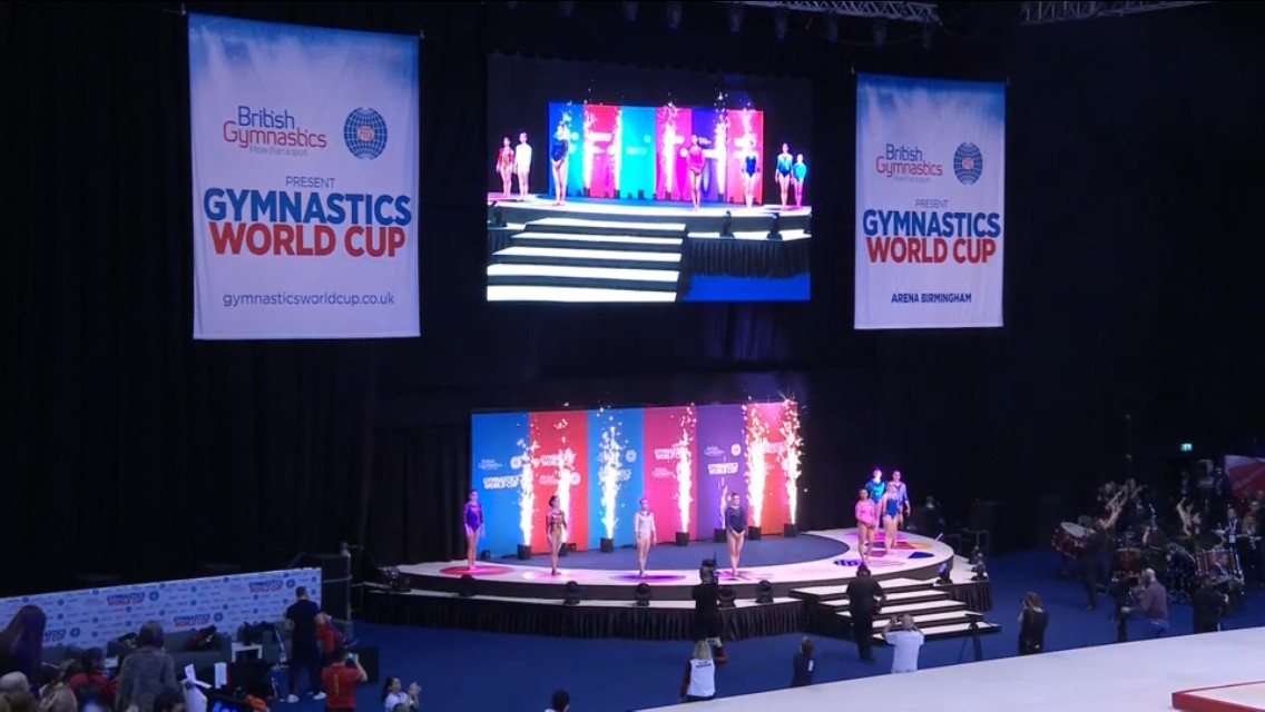 4.7m to 9.1m to 13.5m triple - British Gymnastics World Cup 18 - Arena Birmingham no.5