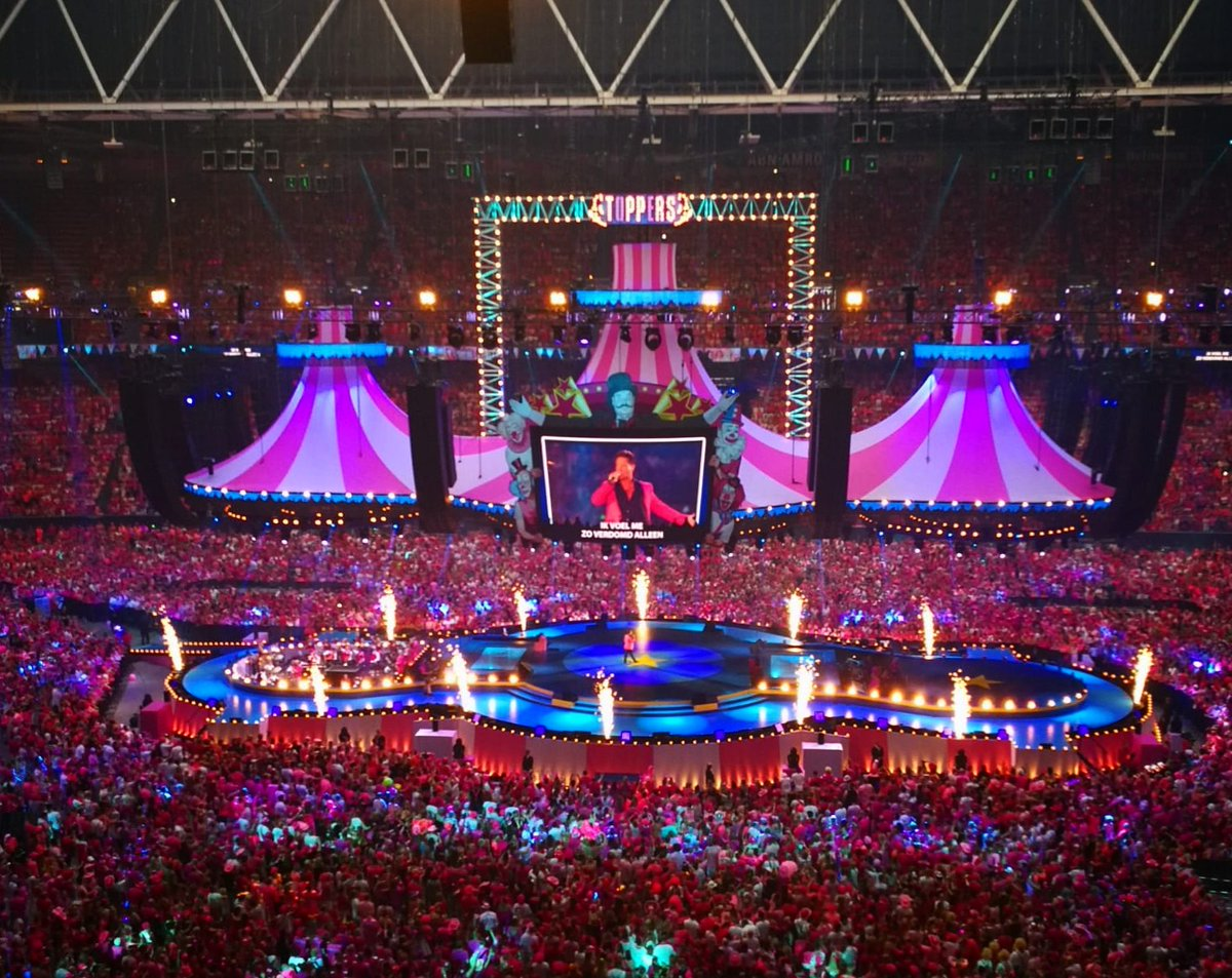 Toppers 'Pretty in Pink – Circus Edition' Concert, Amsterdam ArenA