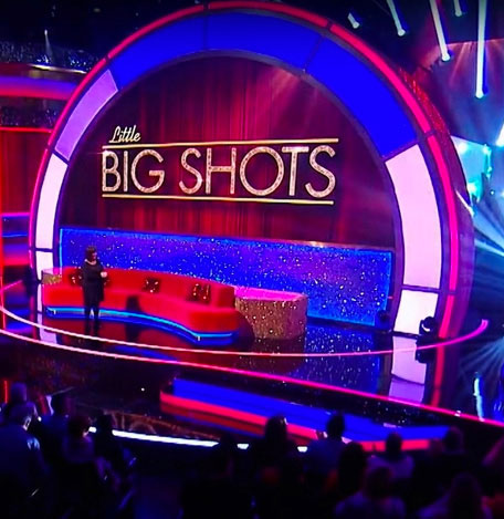 Revolving Stage being featured on Little Big Shots