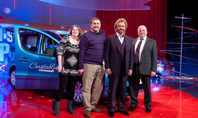 Stage Hire For Noel Edmonds Noels Christmas Presents 2011