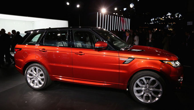 All New Range Rover Sport Reveal In New York City