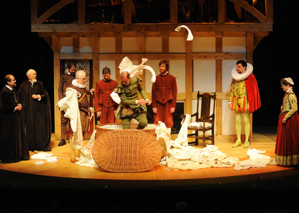 Merry Wives Shakespere Globe Surround Stage And Steps