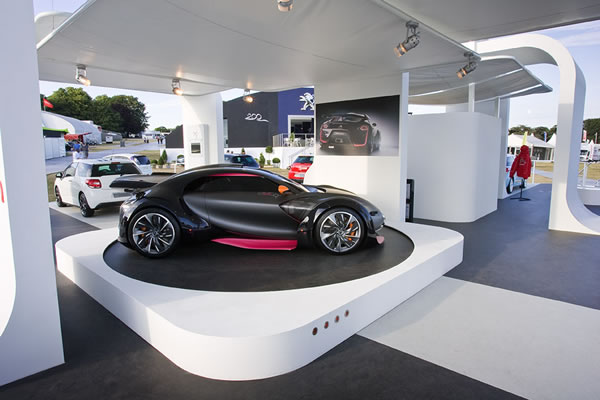 Revolving Plinth Car Showcase 1