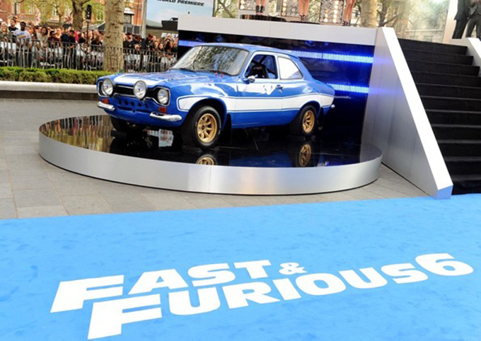 Fast And Furious 6 World Premiere Stage