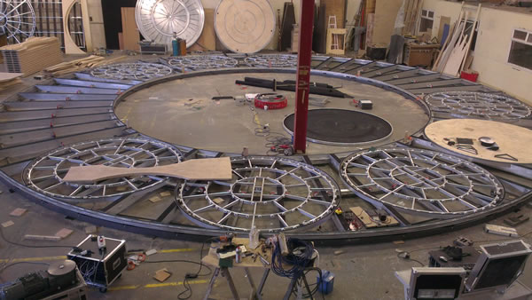 Multi Revolving Stage Construction