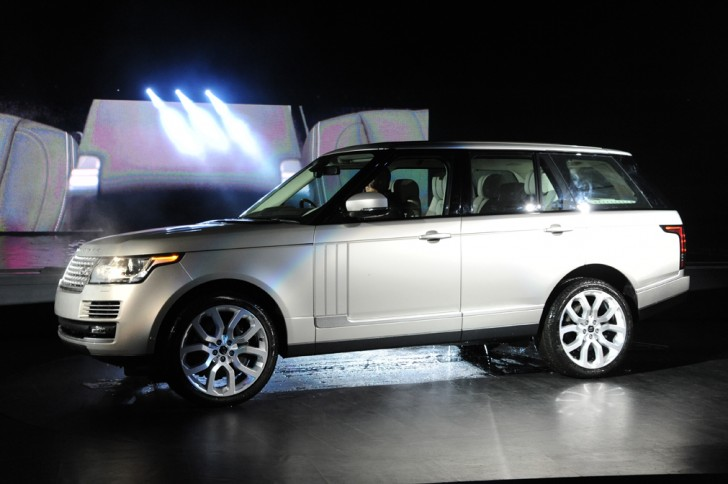 Range Rover Launch Stage Hire