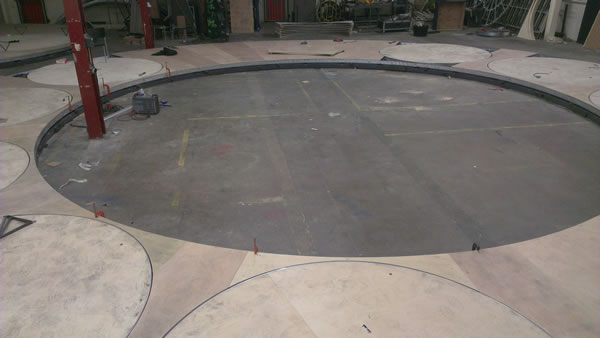 Revolving Stage Construction