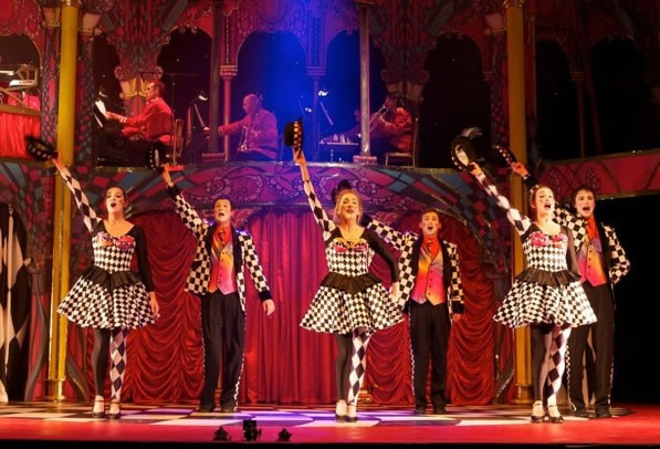 Stage Hire For Alice In Wonderland At The Lichfield Garrick