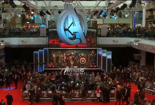 Stage Hire For Avengers Assemble Premiere