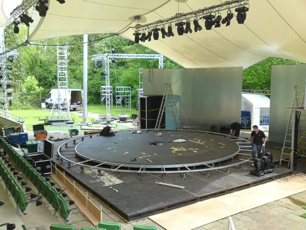 Stage Hire For Kilworth House
