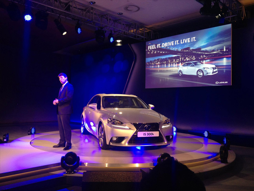 Stage Hire For Lexus Launch Budapest 20131