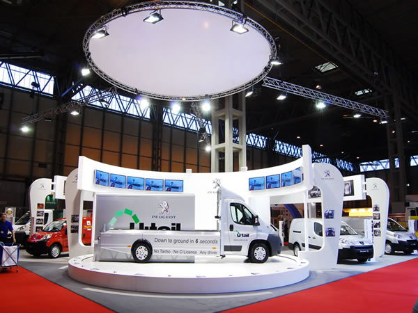 Stage Hire For Van Showcase