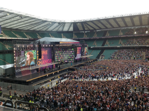 Time For Change Concert At Twickenham Stadium