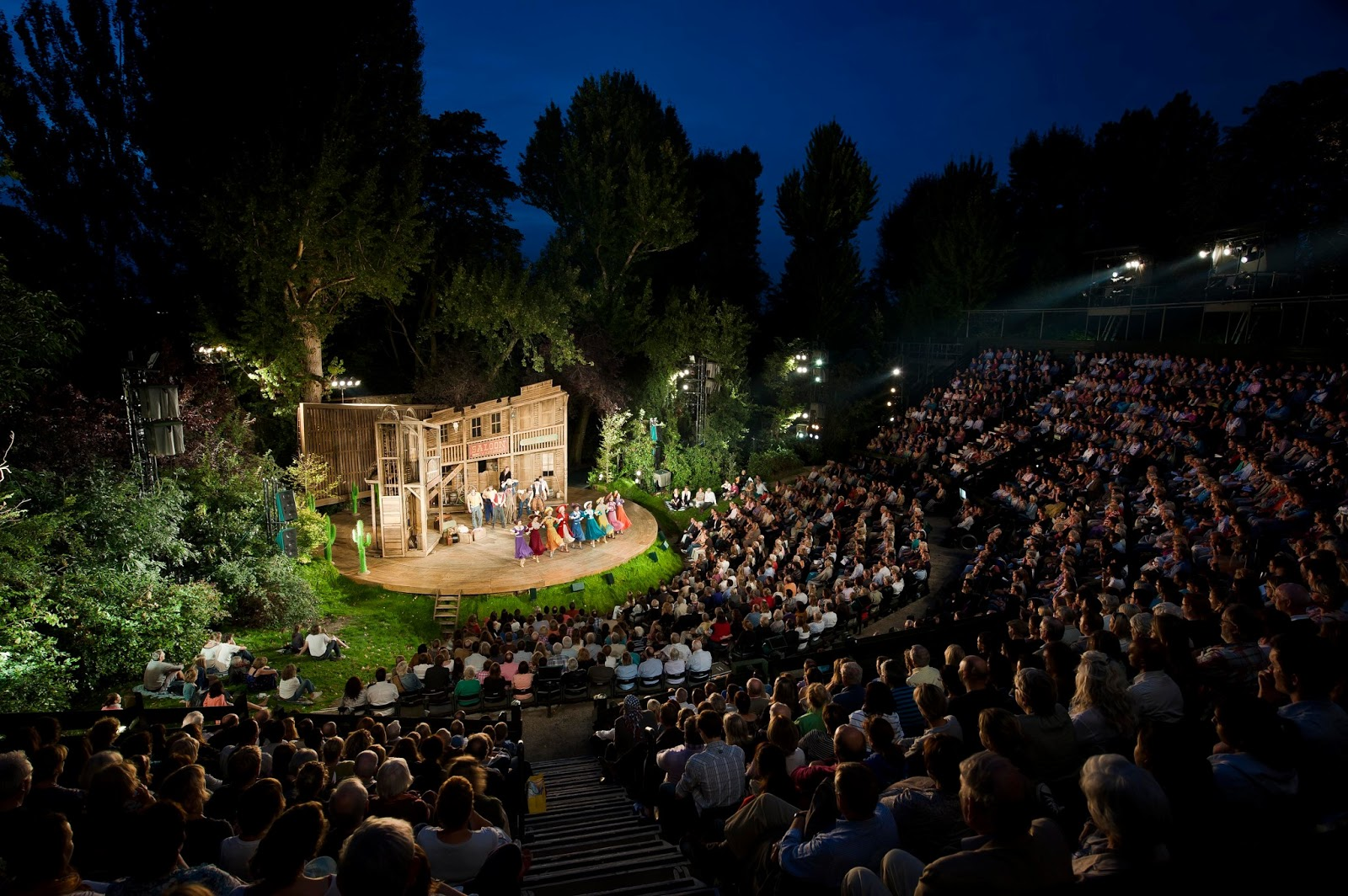 Stage Hire For Crazy For You Regents Park
