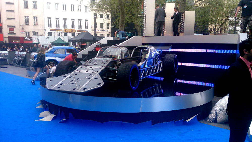 Fast And Furious Leicester Square Stage Hire