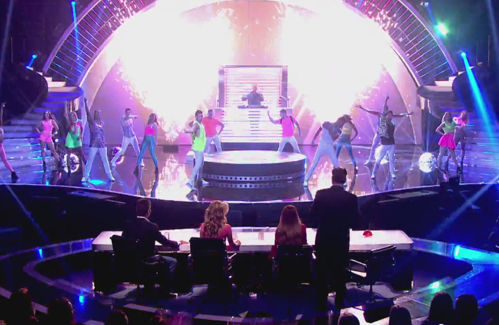 Britain's Got Talent 3m Revolving Stage
