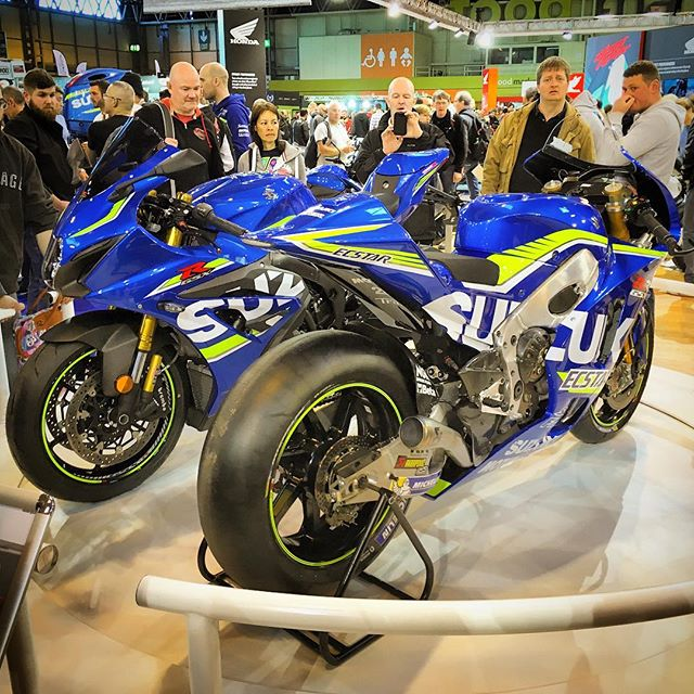 2.5m with rails - Suzuki at Motorcycle Live 2016