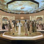5.5m + 1m static - VandA Dior Exhibition1